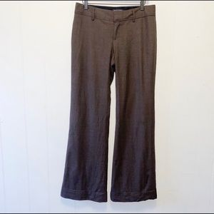 Banana Republic Wool Blend Martin Fit Flare Pant